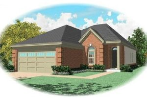 Traditional Exterior - Front Elevation Plan #81-268