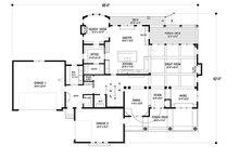 Traditional Floor Plan - Main Floor Plan Plan #56-604