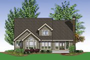 European Style House Plan - 4 Beds 2.5 Baths 2401 Sq/Ft Plan #48-459