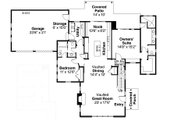 Farmhouse Style House Plan - 3 Beds 3 Baths 2291 Sq/Ft Plan #124-901 Floor Plan - Main Floor Plan