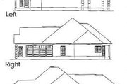 Traditional Style House Plan - 4 Beds 2.5 Baths 2444 Sq/Ft Plan #63-102 Exterior - Rear Elevation