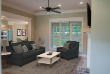 Country Interior - Family Room Plan #430-167