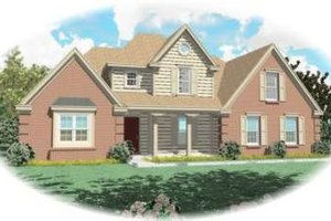 Traditional Exterior - Front Elevation Plan #81-799
