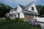Farmhouse Style House Plan - 4 Beds 3.5 Baths 2829 Sq/Ft Plan #120-266 Exterior - Other Elevation