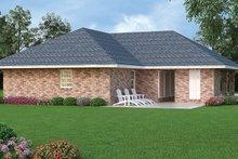 Architectural House Design - European Exterior - Rear Elevation Plan #45-560