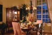 Mediterranean Style House Plan - 3 Beds 3 Baths 2885 Sq/Ft Plan #930-326 Interior - Dining Room