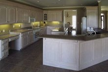 Architectural House Design - Country Interior - Kitchen Plan #44-202