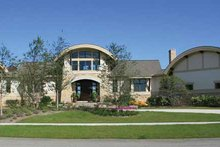 Architectural House Design - Contemporary Exterior - Front Elevation Plan #928-67