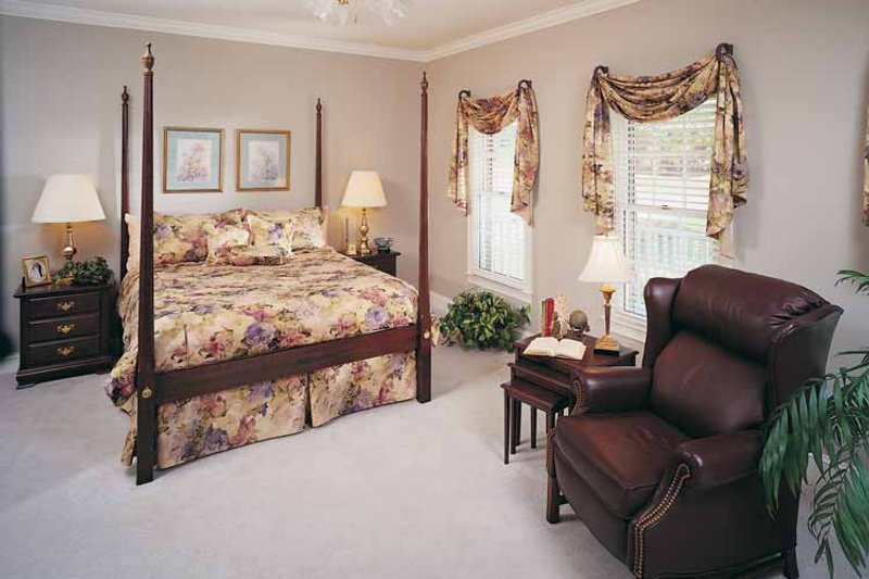 Country Interior - Bedroom Plan #929-96 - Houseplans.com