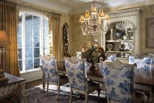 European Interior - Dining Room Plan #453-609