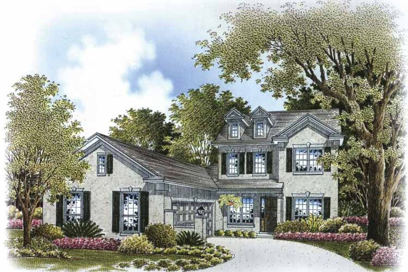 Country Exterior - Front Elevation Plan #999-171 - Houseplans.com