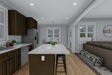 Craftsman Interior - Kitchen Plan #1060-52