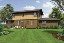 Craftsman Exterior - Rear Elevation Plan #48-913