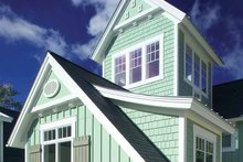 Dream House Plan - Traditional Exterior - Front Elevation Plan #928-23