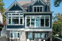 Craftsman Exterior - Rear Elevation Plan #928-282