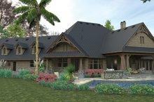 Home Plan - Craftsman Exterior - Rear Elevation Plan #120-246