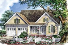 House Plan Design - Ranch Exterior - Front Elevation Plan #929-665