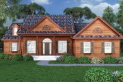 Craftsman Style House Plan - 3 Beds 2 Baths 2200 Sq/Ft Plan #417-797 Exterior - Front Elevation