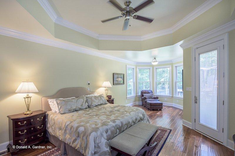 European Interior - Master Bedroom Plan #929-877 - Houseplans.com
