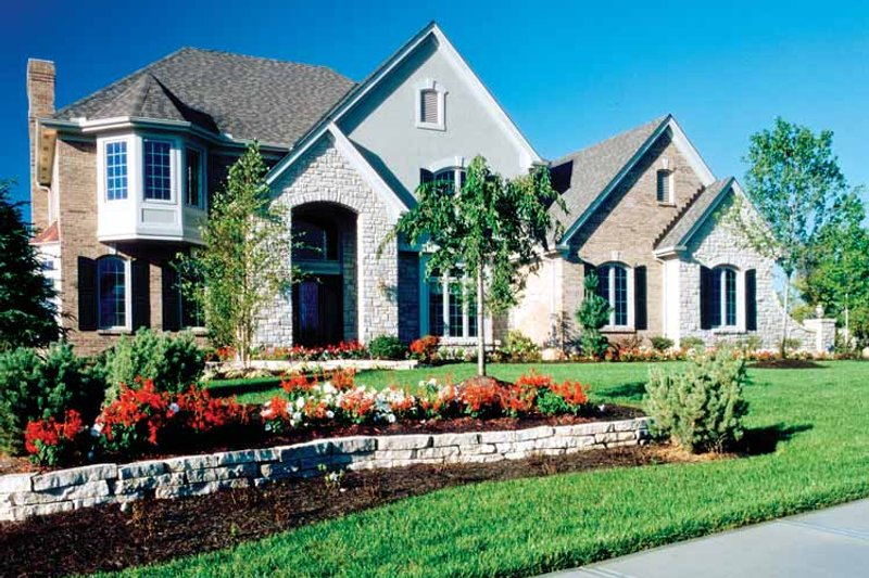 Country Exterior - Front Elevation Plan #46-689 - Houseplans.com