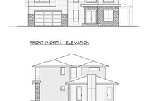 Architectural House Design - Contemporary Exterior - Other Elevation Plan #1066-51
