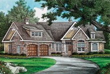 Craftsman Exterior - Front Elevation Plan #929-909