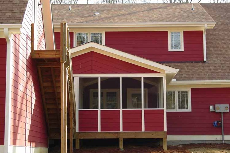 Traditional Exterior - Other Elevation Plan #939-3 - Houseplans.com