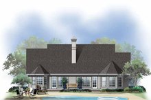 Country Exterior - Rear Elevation Plan #929-362