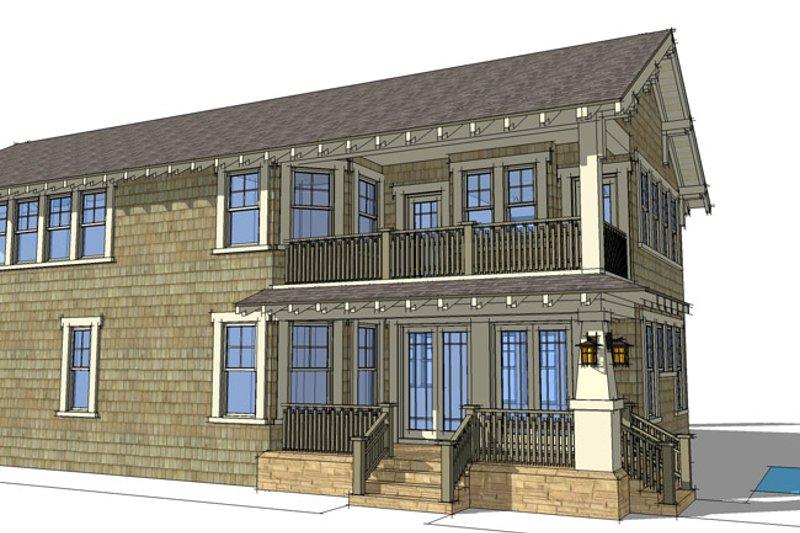 Craftsman Exterior - Other Elevation Plan #64-284 - Houseplans.com