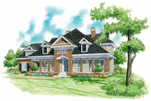 Country Exterior - Front Elevation Plan #930-243