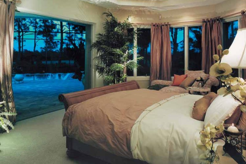 Mediterranean Interior - Bedroom Plan #930-105 - Houseplans.com