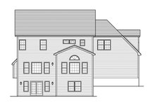 Home Plan - Traditional Exterior - Rear Elevation Plan #1010-129