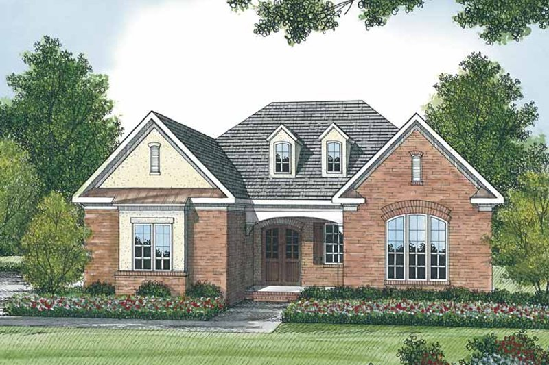 Traditional Exterior - Front Elevation Plan #453-508 - Houseplans.com