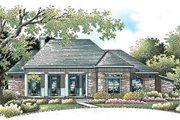 Traditional Style House Plan - 3 Beds 2.5 Baths 2503 Sq/Ft Plan #45-149 Exterior - Front Elevation