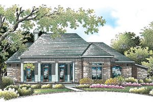 Traditional Exterior - Front Elevation Plan #45-149