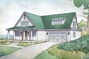 Traditional Style House Plan - 3 Beds 2.5 Baths 2725 Sq/Ft Plan #928-288 Exterior - Front Elevation