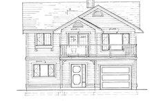 House Blueprint - Craftsman Exterior - Front Elevation Plan #47-694