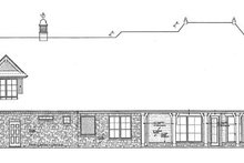 House Design - European Exterior - Rear Elevation Plan #310-1278