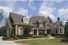 Dream House Plan - European Exterior - Front Elevation Plan #54-269