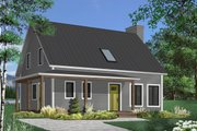 Country Style House Plan - 3 Beds 2.5 Baths 1772 Sq/Ft Plan #23-2670 Exterior - Front Elevation