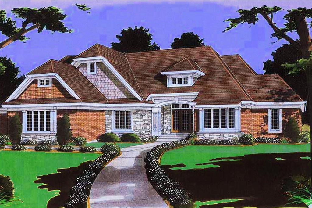 Traditional style house plan 4 beds 3 5 baths 5381 sq ft for Craftsman style homes for sale in northern virginia