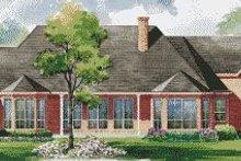 Home Plan - European Exterior - Rear Elevation Plan #20-1172