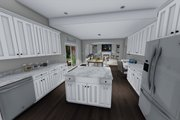 Traditional Style House Plan - 3 Beds 2.5 Baths 2176 Sq/Ft Plan #1060-37 Interior - Kitchen