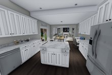 House Design - Traditional Interior - Kitchen Plan #1060-37