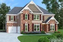 Dream House Plan - Traditional Exterior - Front Elevation Plan #419-193