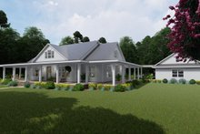 House Plan Design - Farmhouse Exterior - Front Elevation Plan #120-254