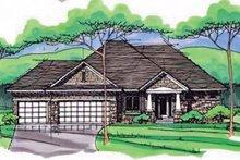 House Plan Design - European Exterior - Front Elevation Plan #51-968
