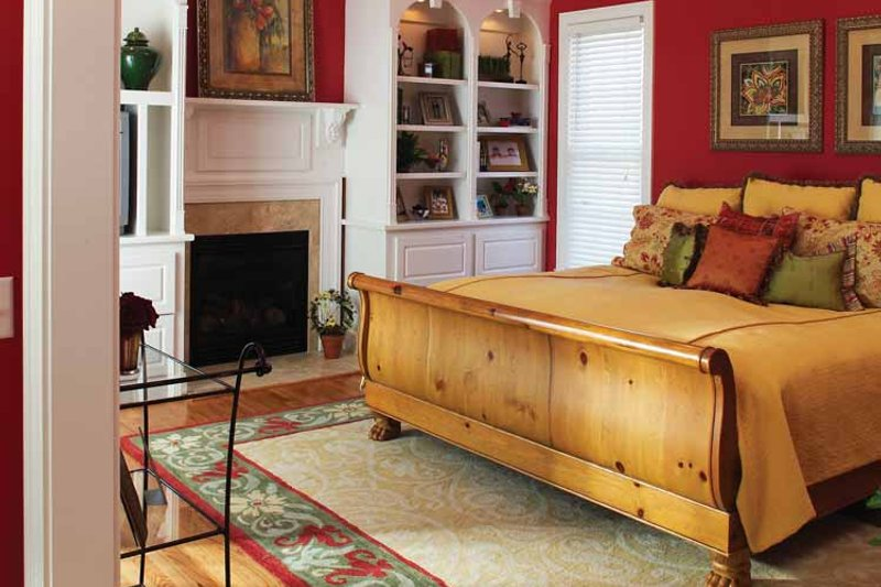 Country Interior - Master Bedroom Plan #929-755 - Houseplans.com