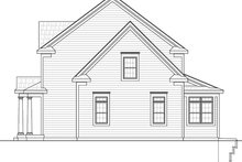 House Plan Design - Colonial Exterior - Other Elevation Plan #20-2250