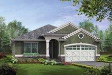 Craftsman Exterior - Front Elevation Plan #132-530
